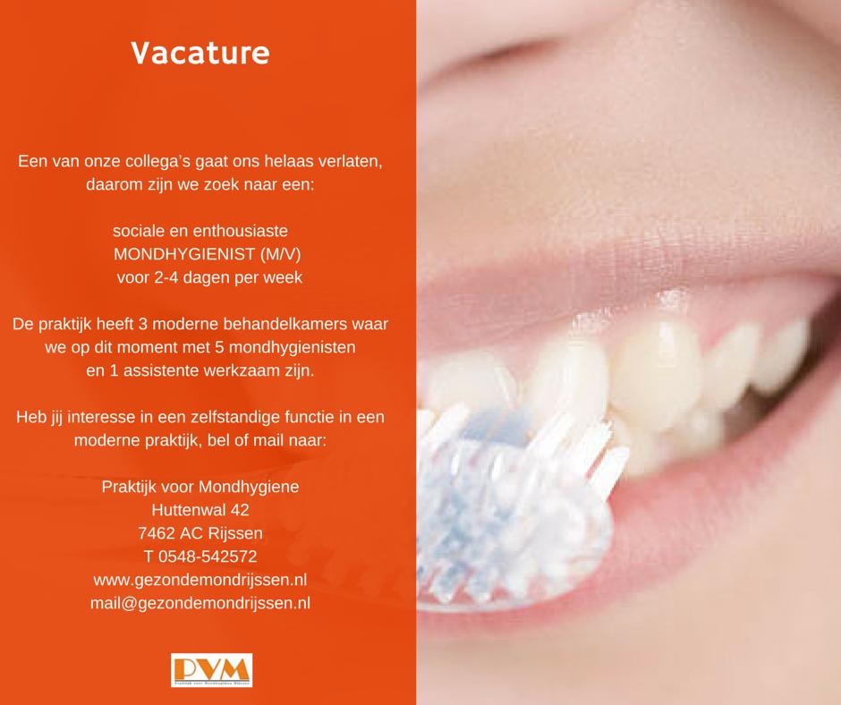 Advertentie ontwerp voor Praktijk voor Mondhygiene Rijssen