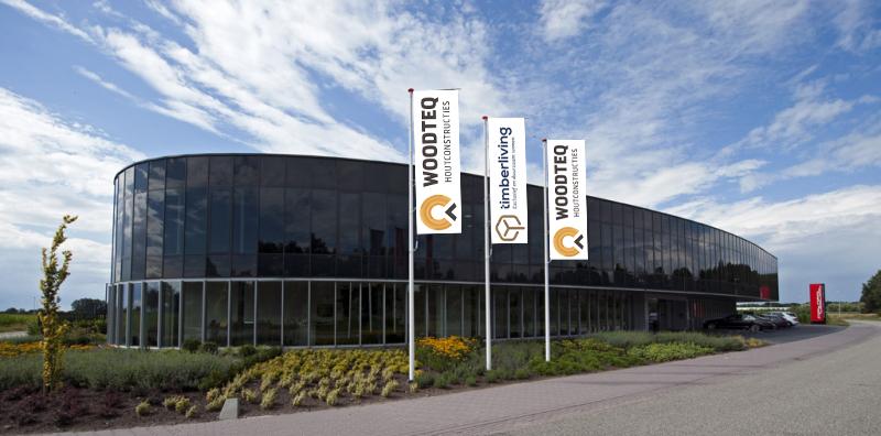 Vlaggen ontwerp voor Timberliving en Woodteq – Rijssen – Holten