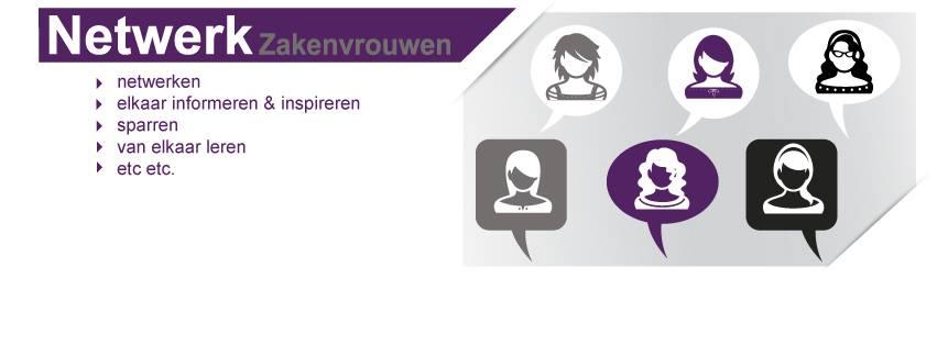 Banners social media ontwerp Netwerk Zakenvrouwen Overijssel- Salland