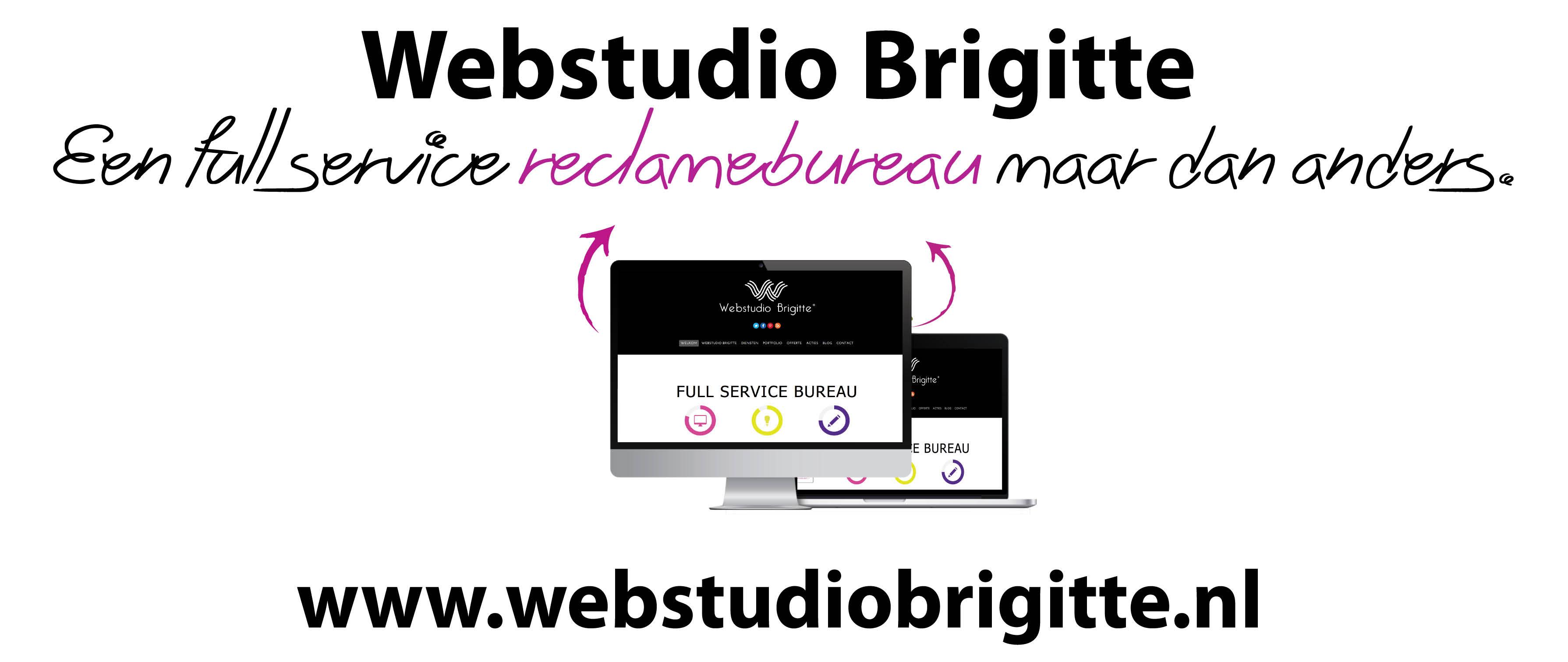 Belettering auto Webstudio Brigitte