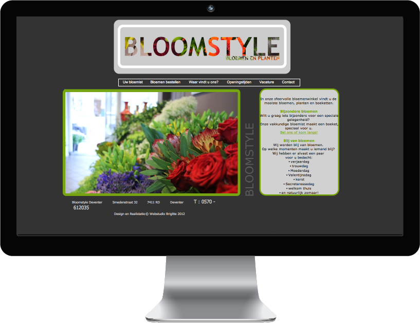 Website Bloomstyle