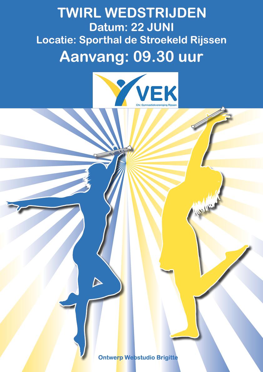 Poster ontwerp VEK Rijssen