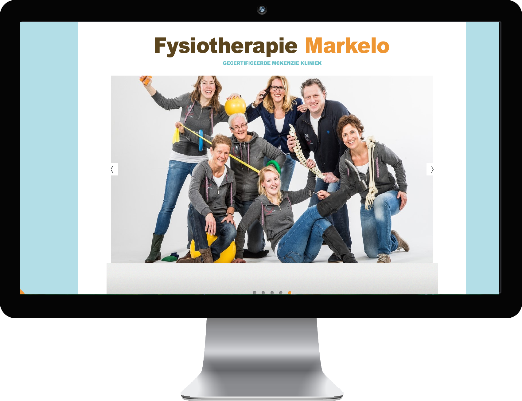 Website Fysiotherapie Markelo