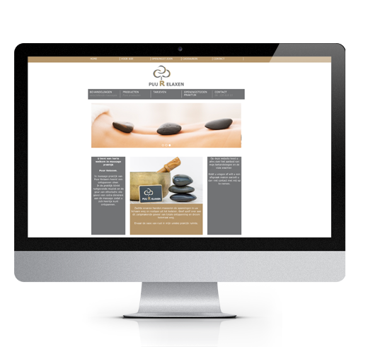 Website Salon Puur Relaxen