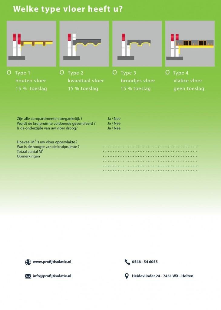 Achterzijde folder vloer isolatie