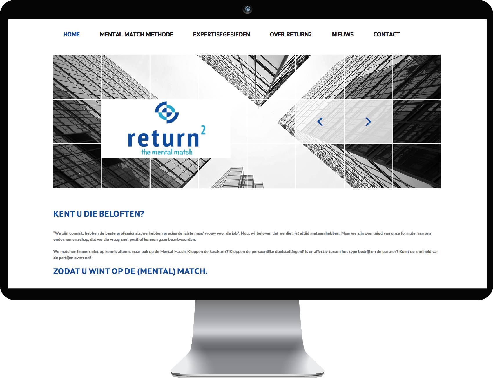 Website ontwerp Return 2