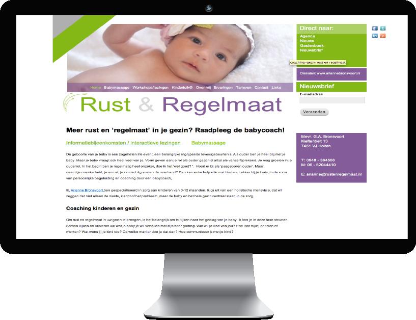 Website Rust & Regelmaat