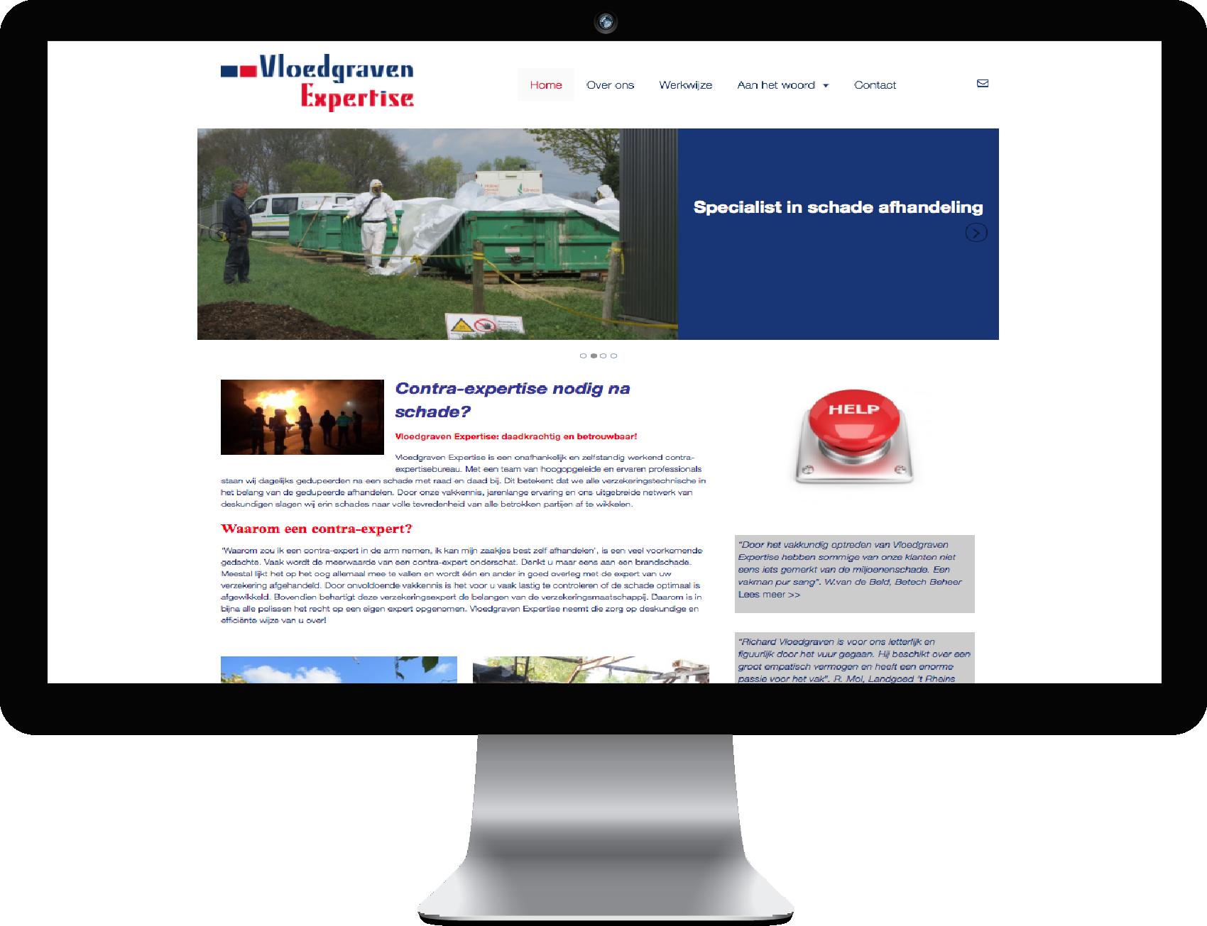Website Vloedgraven Expertise Rijssen